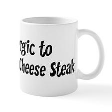 Allergic to Philadelphia Chee Mug