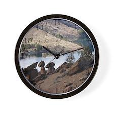Balancing Rocks Of Oregon Wall Clock