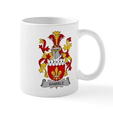 Gamble Family Crest Mugs