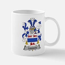 Gannon Family Crest Mugs