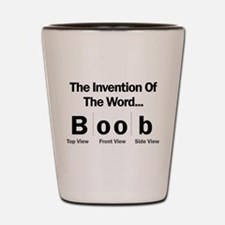Invention Of The Word Shot Glass