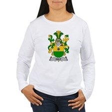 Haly Family Crest Long Sleeve T-Shirt