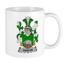 Hanlon Family Crest Mugs