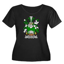 Hanlon Family Crest Plus Size T-Shirt
