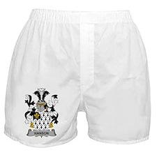 Hanson Family Crest Boxer Shorts