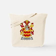 Harkins Family Crest Tote Bag