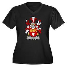 Hart Family Crest Plus Size T-Shirt