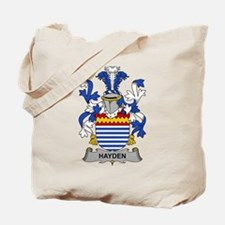 Hayden Family Crest Tote Bag