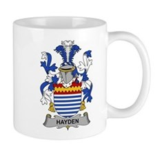 Hayden Family Crest Mugs
