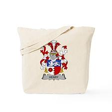 Henry Family Crest Tote Bag