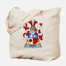Henry Family Crest Tote Bag