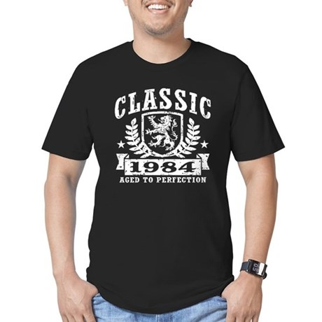 Classic 1984 Men's Fitted T-Shirt (dark)