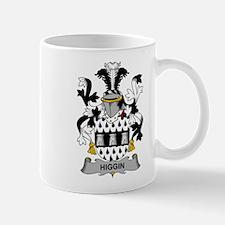 Higgin Family Crest Mugs