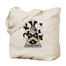 Jarvis Family Crest Tote Bag