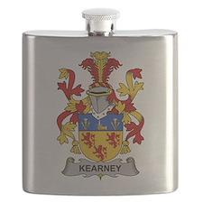 Kearney Family Crest Flask