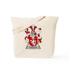 Keegan Family Crest Tote Bag