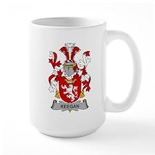 Keegan Family Crest Mugs