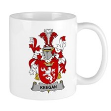 Keegan Family Crest Mugs