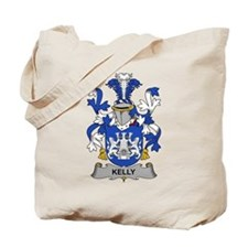 Kelly Family Crest Tote Bag