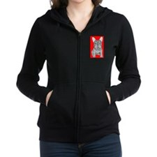 French Bulldog Love Zip Hoodie