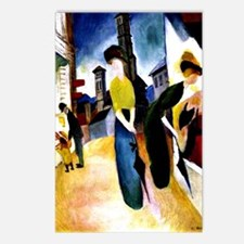 August Macke - Two Women  Postcards (Package of 8)