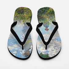 Claude Monet - Woman with a Parasol Flip Flops