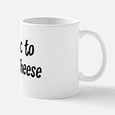Allergic to Pepperjack Cheese Mug