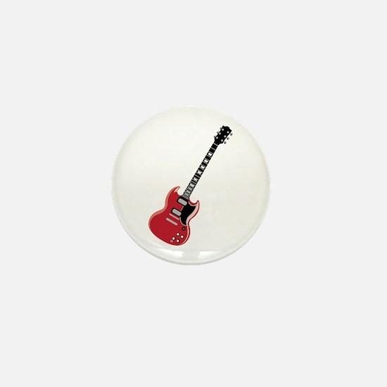 Electric Guitar Mini Button