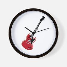 Electric Guitar Wall Clock