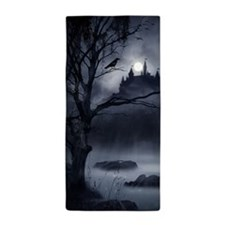 Gothic Night Fantasy Beach Towel
