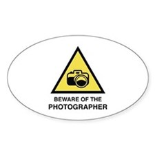 Beware Of The Photographer Decal