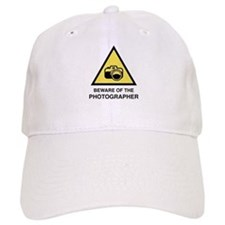 Beware Of The Photographer Baseball Cap