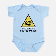 Beware Of The Photographer Infant Bodysuit