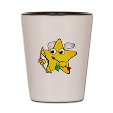 Cupid Star Cartoon Shot Glass
