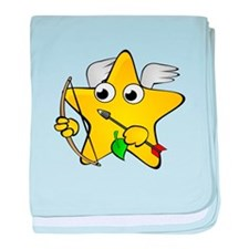 Cupid Star Cartoon baby blanket