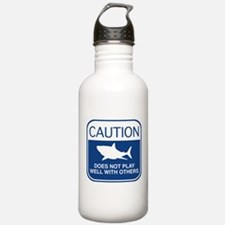 Caution - Does Not Play Well With Others Water Bottle