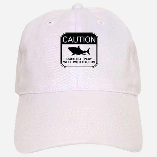 Caution - Does Not Play Well With Others Baseball Baseball Cap