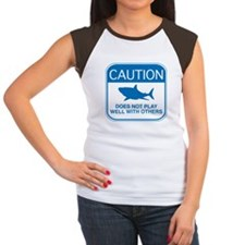 Caution - Does Not Play Well With Others Women's C