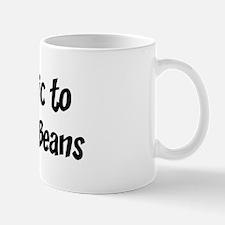 Allergic to Franks And Beans Mug