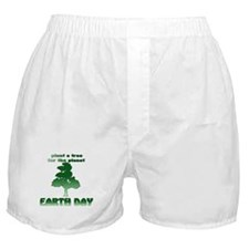 Plant An Earth Day Tree Boxer Shorts