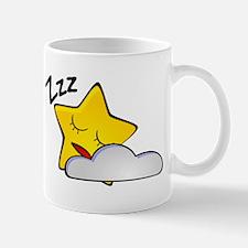 Sleeping Star Cartoon Mugs