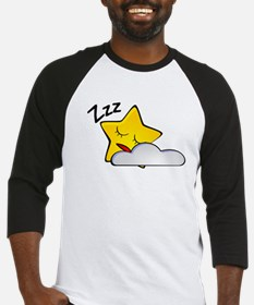 Sleeping Star Cartoon Baseball Jersey