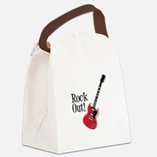 Rock Out Canvas Lunch Bag