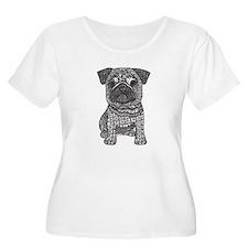 Pug Love Plus Size T-Shirt