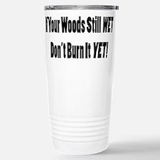 Wet Wood Travel Mug