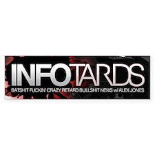 INFO TARDS Bumper Bumper Sticker