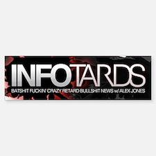 INFO TARDS Bumper Bumper Bumper Sticker
