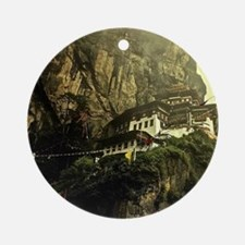 The Tigers Nest Round Ornament