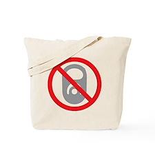 No Pop Tabs! (Gray) Tote Bag