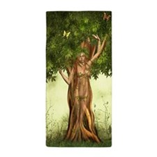 Mother Nature Tree Beach Towel